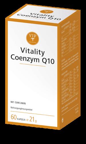 Zur Aufrechterhaltung der körpereigenen Coenzym Q10-Konzentration